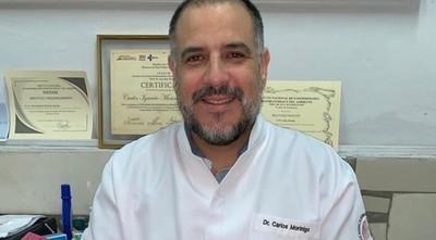 Dr. Carlos Morínigo: «tomen el toro por las astas o se viene la noche»