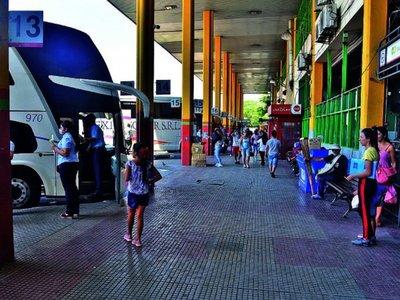 Cierran Terminal de Ómnibus de Asunción por coronavirus