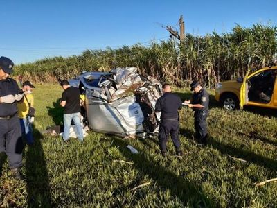 Fallecen presidente de la ARP Regional Canindeyú y su acompañante