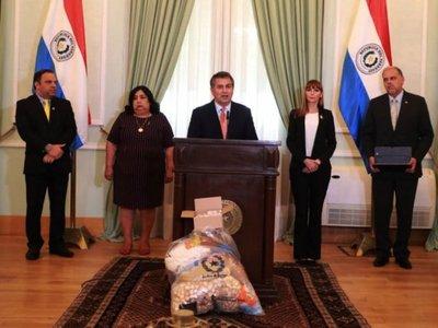 Gobierno anuncia licitación especial para suministro de kits alimenticios