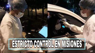 Realizan estricto control en Misiones