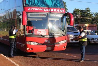 Ante cierre de terminal, establecen itinerario de buses de distancia en Asunción