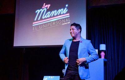 Manni Delvalle presenta su unipersonal en streaming
