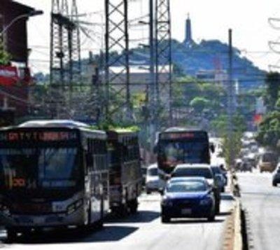 Viceministerio de Transporte reduce frecuencia de buses hasta abril