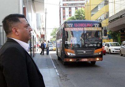 Establecen horarios de circulación del transporte de pasajeros