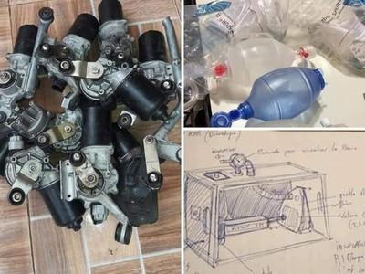 Investigadores, docentes y estudiantes de la FIUNA participan en fabricación de respiradores e invitan a sumarse al desafío