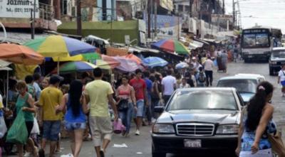 Cierre parcial del Mercado 4 de Asunción