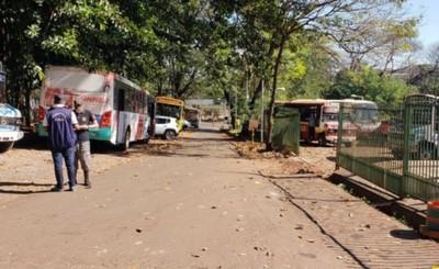 Desde hoy no habrá servicio de transporte público en CDE