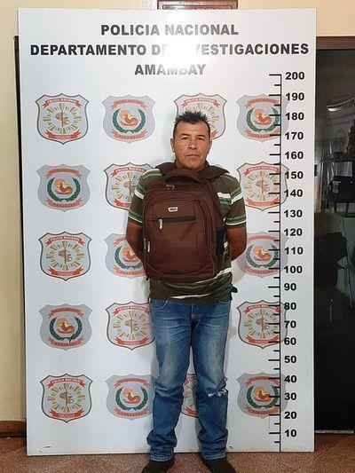 Detienen a presunto violador de una niña en Pedro Juan Caballero