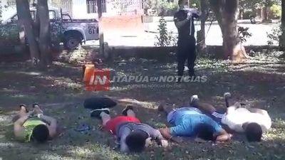 YA SON 21 LOS APREHENDIDOS POR NO ACATAR RESTRICCIONES EN ITAPÚA