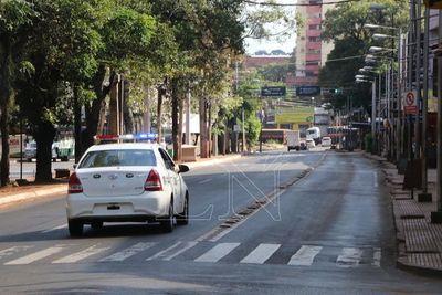 Desde ayer, CDE está sin transporte público