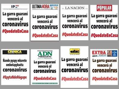 Diarios se unen por una causa: #QuedateEnCasa