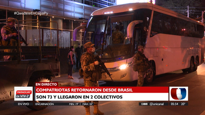 Compatriotas retornaron al país desde Brasil y cumplirán cuarentena en hotel