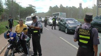 Caminera pescará irresponsables y se los entregará a la Policía