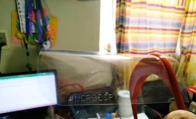 HOY / #HéroesPy: el emotivo mensaje en los barbijos 3D que donarán a médicos
