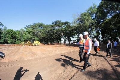 Prevén concluir en 30 días construcción de hospitales de contingencia