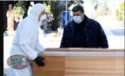 Italia: 743 fallecieron ayer martes y muertos ya suman 6 mil 280