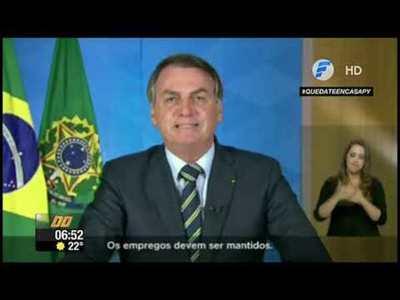 Criminal irresponsabilidad de Bolsonaro: Escuelas deben abrir
