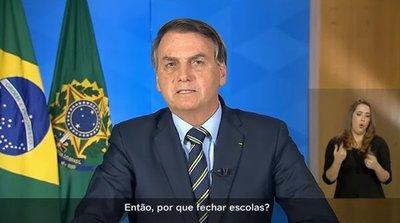 Bolsonaro pide a sus ciudadanos que vuelvan a sus vidas normales