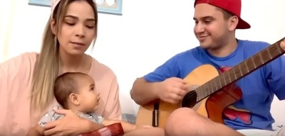 MaleGonzález y su pareja sorprendieron con una canción en medio de la cuarentena
