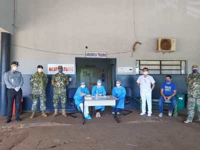Habilitan sector exclusivo para pacientes respiratorios en CDE