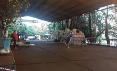 Paraguayos deberán hacer cuarentena en tinglado de aduanas