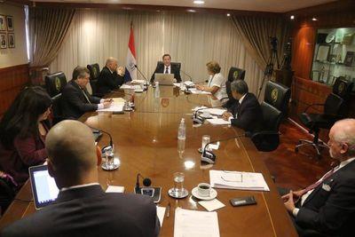 Ministros de la Corte sesionan ordinariamente, pese a disposición sanitaria