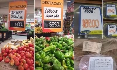 Ante masivos reclamos vuelvan a bajar precios de frutas y verduras