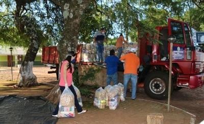HOY / Kits de alimentos llegaron a la Gobernación de Amambay
