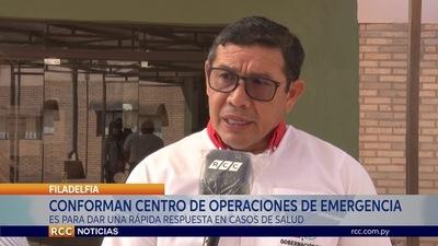 CONFORMAN CENTRO DE OPERACIONES PARA MITIGAR IMPACTO DE CORONAVIRUS EN EL CHACO PARAGUAYO