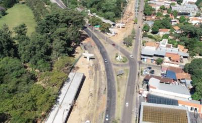 HOY / Culminan una parte del primer puente que enlaza con el Corredor Botánico
