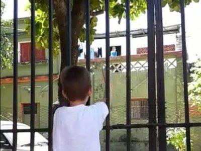 """El """"hakembó"""" de los niños desde el aislamiento"""