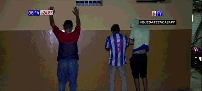 Seis personas detenidas por violar la cuarentena
