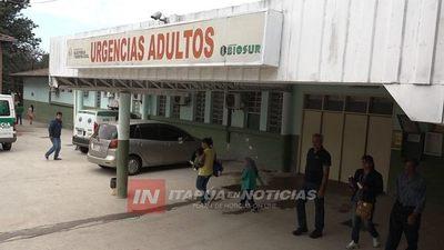 FALLECIDO EN EL HOSPITAL HABRÍA INGRESADO POR CUADRO RESPIRATORIO AGUDO.