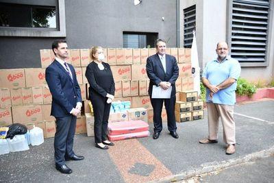 Coronavirus: Fiscalía recibe donación de insumos para unidades de turno
