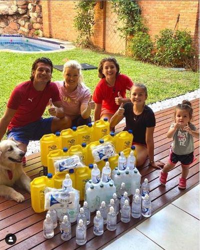 Referentes del fútbol paraguayo demuestran su lado más generoso en plena crisis