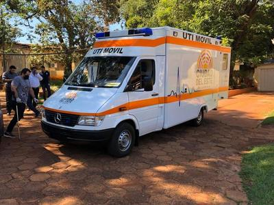 Hospital Regional suma una nueva ambulancia