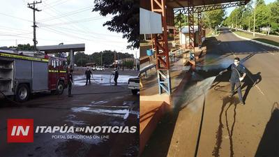 EDELIRA: BARRERAS SANITARIAS Y DESINFECCIÓN DE LUGARES PÚBLICOS