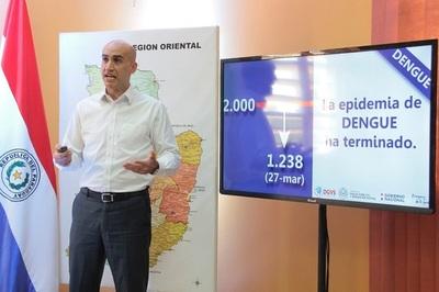 FIN DE LA EPIDEMIA DE DENGUE MÁS GRANDE DE LAS ÚLTIMAS DOS DÉCADAS