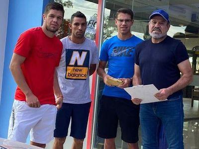 FAP asistió a los jugadores de General Díaz
