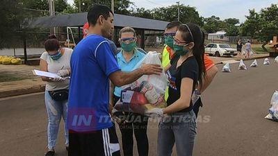 INICIA PROCESO DE DISTRIBUCIÓN DE KITS ALIMENTICIOS DE EMERGENCIA EN ENCARNACIÓN