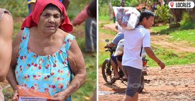 Entregan kits de alimentos de emergencia a familias de Encarnación