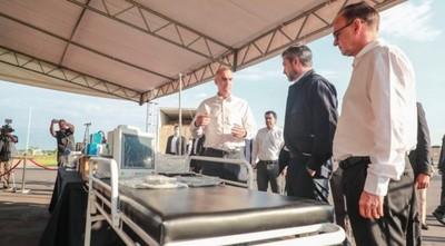 Ministerio de Salud recibe primer lote de insumos adquiridos por Itaipú