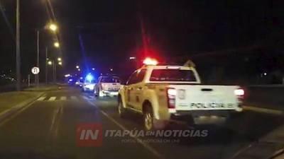 POLICÍA VUELVE A INTENSIFICAR CONTROLES ESTE FIN DE SEMANA