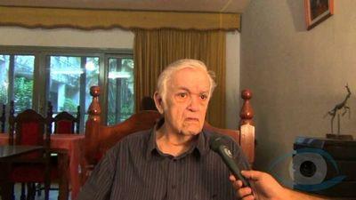 Falleció exdiputado, escritor y defensor de la dictadura stronista