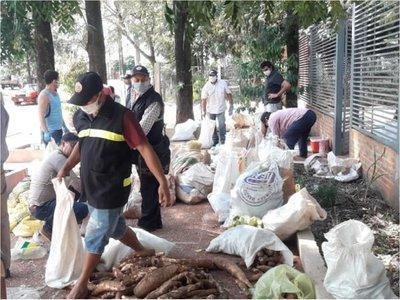 Covid-19: Entregan víveres a familias vulnerables de Capiibary