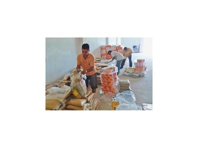 Caaguazú se une para donar  alimentos  y kits biomédicos