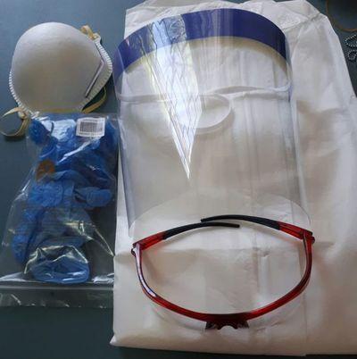 Entregarán kits reglamentarios de bioseguridad para profesionales médicos