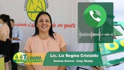 """HOY / Liz Cristaldo, Gerente de la Cooperativa Ñemby, sobre la """"Campaña Solidaria"""" que iniciaron las Mujeres Cooperativistas"""