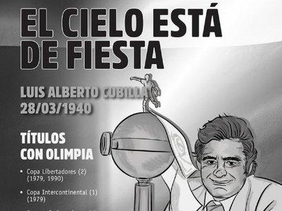 Una fecha que recuerda a un maestro bañado en gloria del Olimpia